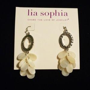 Lia Sophia pierced earrings NWT